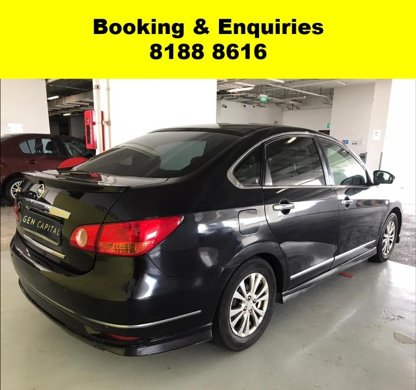 Nissan Sylphy LAST WEEK CIRCUIT BREAKER PROMO! FULLY SANITISED AND GROOMED! $500 DEPOSIT DRIVEAWAY. WHATSAPP 8188 8616 NOW TO RESERVE A CAR TODAY!