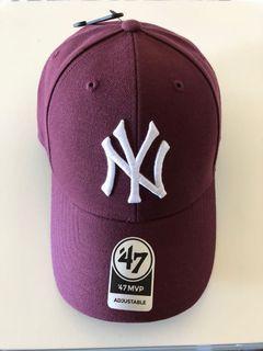 NY Yankees maroon baseball cap