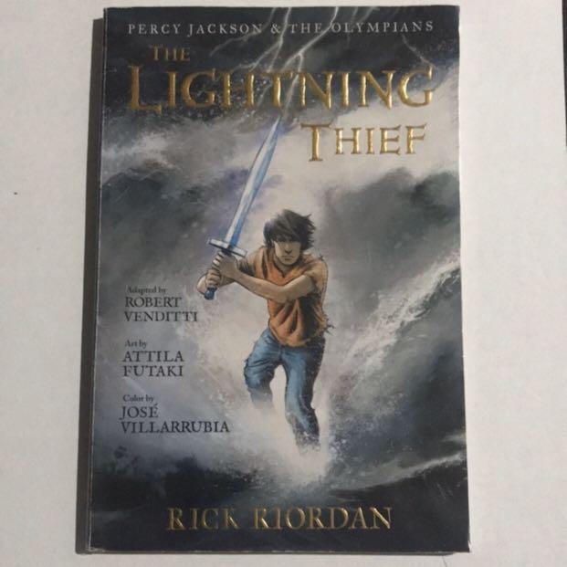 Percy Jackson and The Olympians: The Lightning Thief Graphic Novel By Rick Riordan