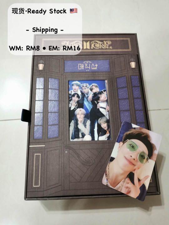 (Ready. Full Set + RM photocard) BTS 5TH MUSTER [MAGIC SHOP] DVD 출시 안내