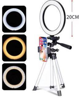 Ring Light IPhone Holder Tripod Stand (PO)