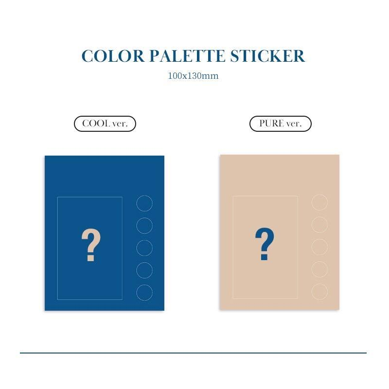 Super junior K.R.Y mini album (when we were us) season : blue glow was our first album (COOL/PURE VER)