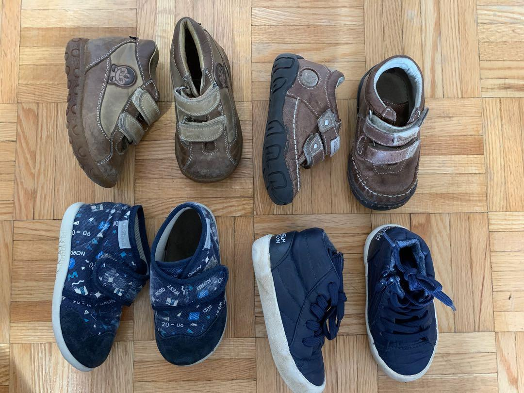 Toddlers shoes sizes 21-22