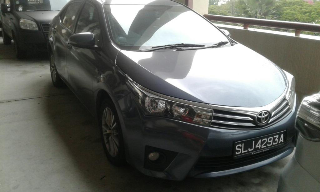 Toyota Altis 50% OFF RENTAL ( AFTER CIRCUIT BREAKER PROMOTION - PHASE 1 )