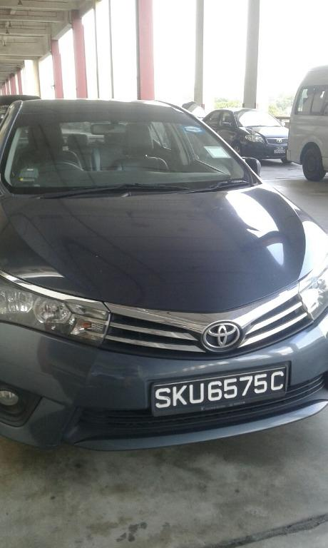 TOYOTA ALTIS FOR RENT 50% OFF RENTAL ( CIRCUIT BREAKER PROMTION )