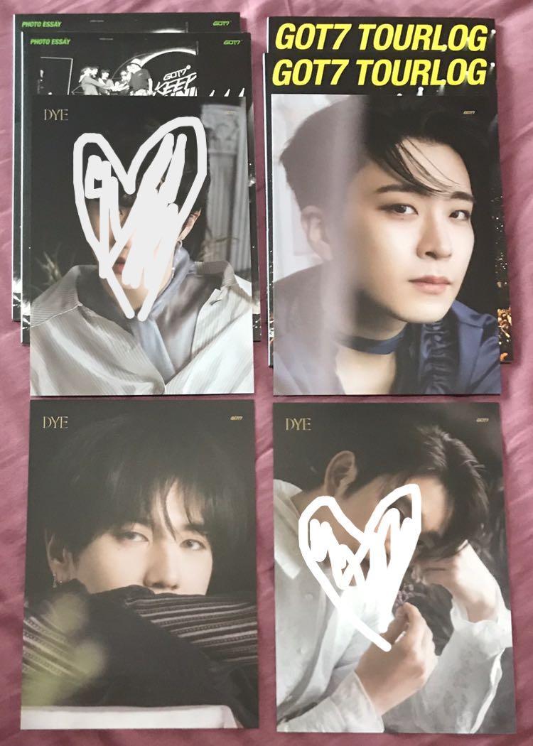 [WTS] Yugyeom and youngjae lyrics card tourlog book