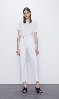 Zara straight leg jeans (size 0)
