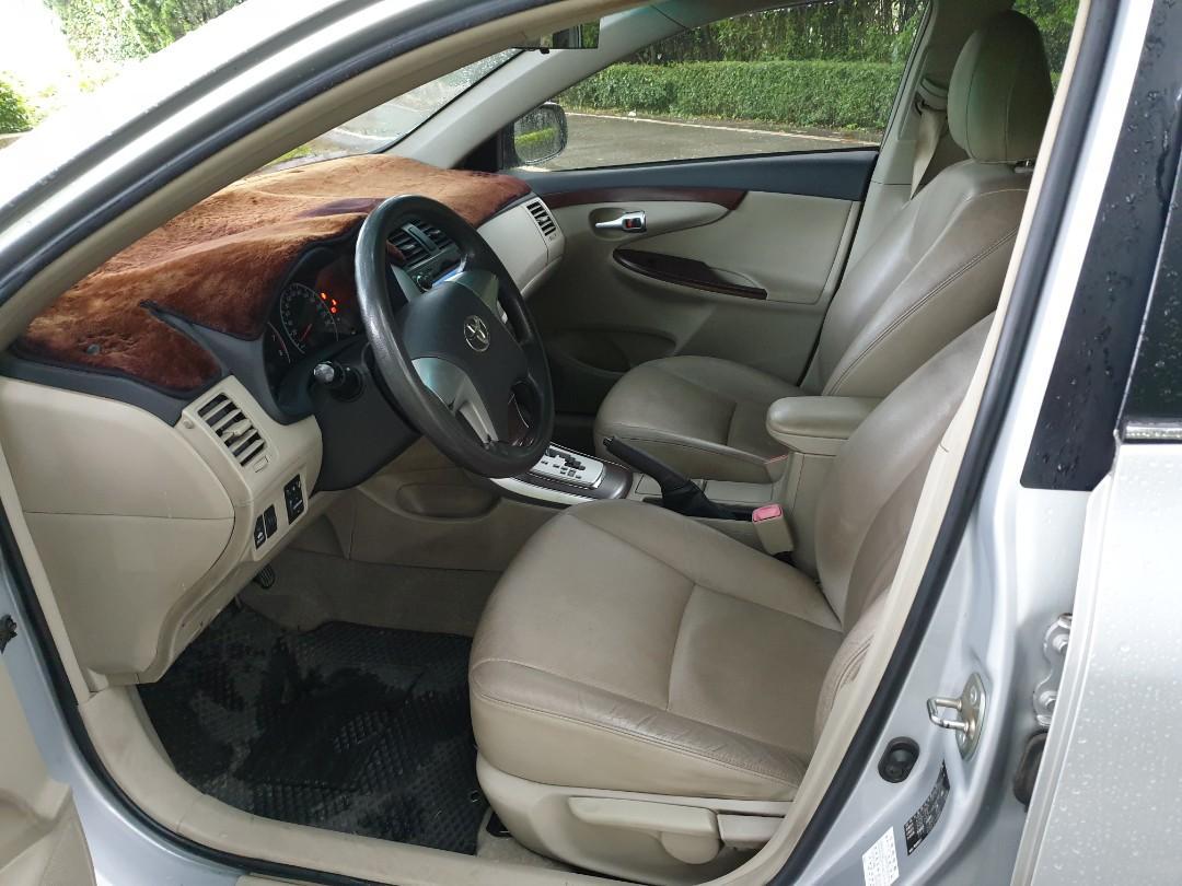 自售10豐田altis1.8E
