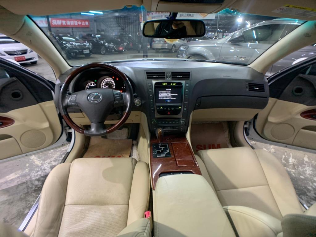 2007  Lexus Gs350 3.5白色 全額貸款 超額貸款  找錢車 非自售 一手車/中古車