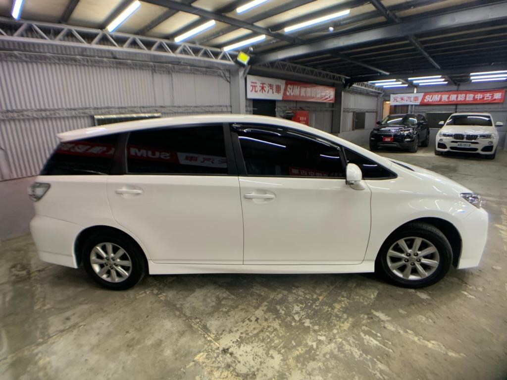 2010 toyota Wish 2.0E  白色 全額貸款 超額貸款  找錢車 非自售 一手車/中古車