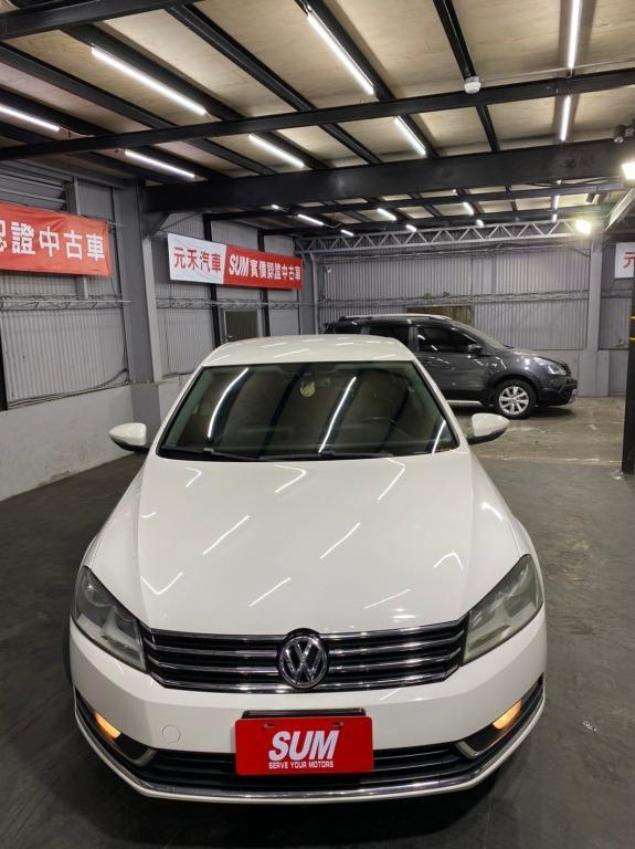 2011 福斯 Passat 1.8 白色 全額貸款 超額貸款  找錢車 非自售 一手車/中古車