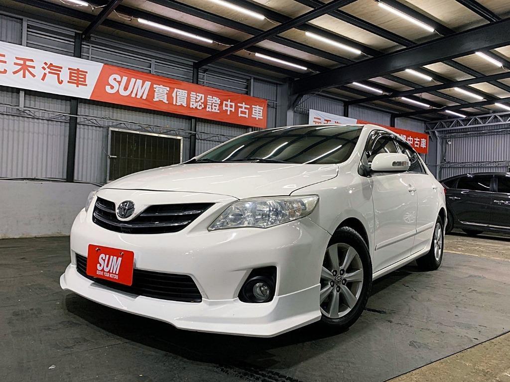 正2011年 運動版小改款 Toyota Altis 1.8E版  超省油7速手自排