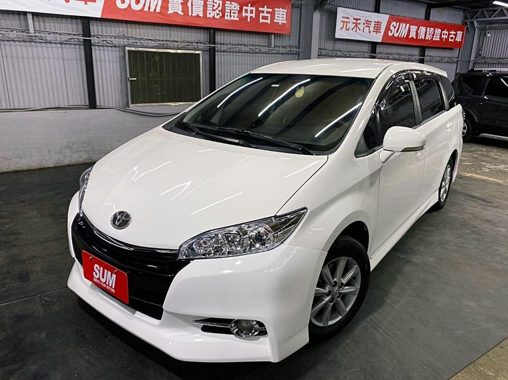 2011 toyota  Wish 2.0白  全額貸款 超額貸款  找錢車 非自售 一手車/中古車