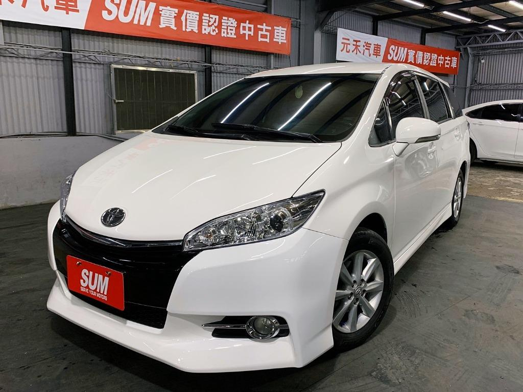 2011 toyota Wish 2.0白色  全額貸款 超額貸款  找錢車 非自售 一手車/中古車