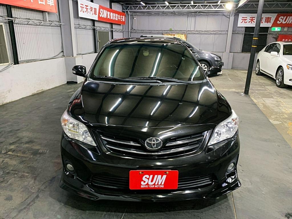 2012 toyota  Altis 1.8E 黑色 全額貸款 超額貸款  找錢車 非自售 一手車/中古車