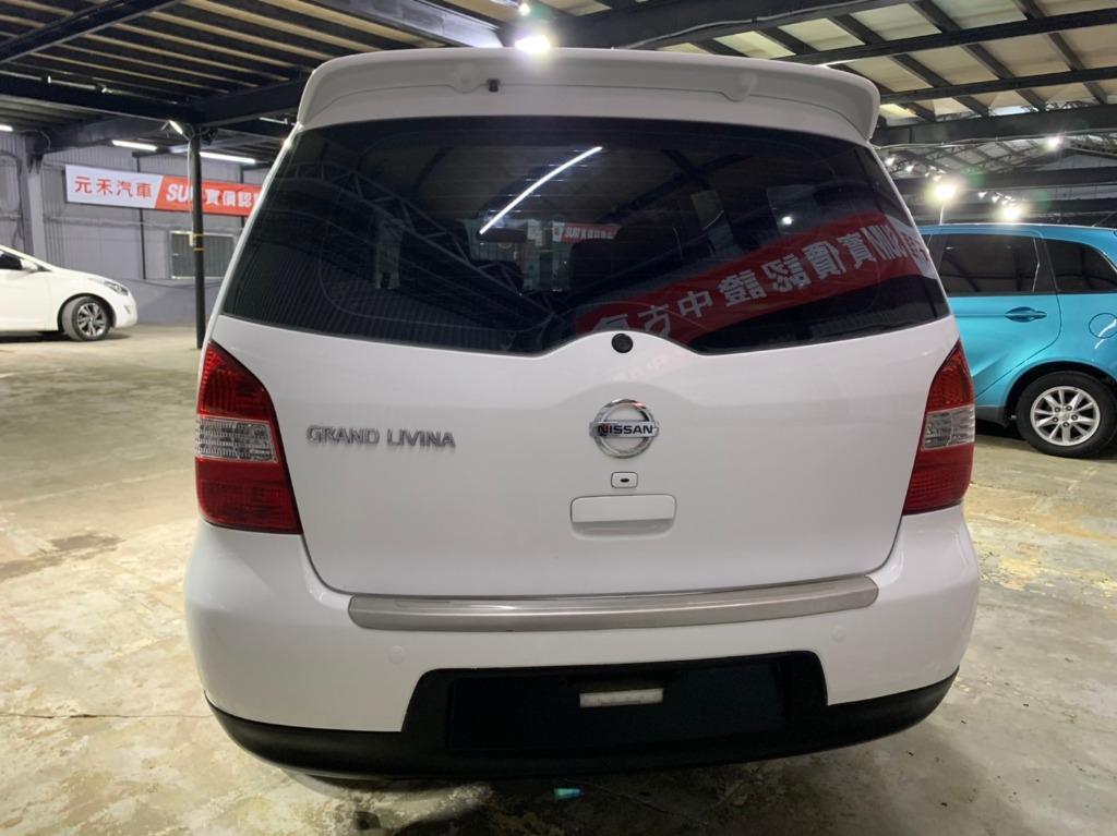2013 Nissan  Livina 1.8 頂級七人白色  全額貸款 超額貸款  找錢車 非自售 一手車/中古車