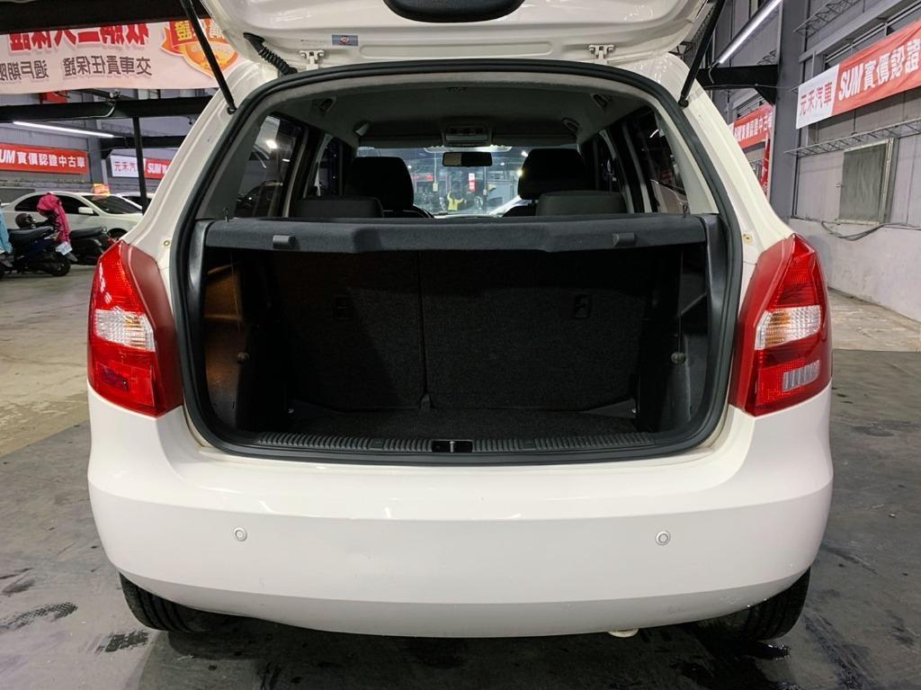 2013 Skoda Fabia 1.2 白  全額貸款 超額貸款  找錢車 非自售 一手車/中古車