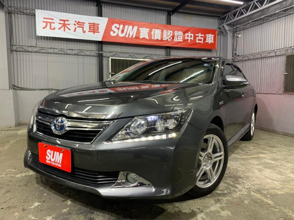 2013  TOYOTA Camry 2.5h 灰色 全額貸款 超額貸款  找錢車 非自售 一手車/中古車