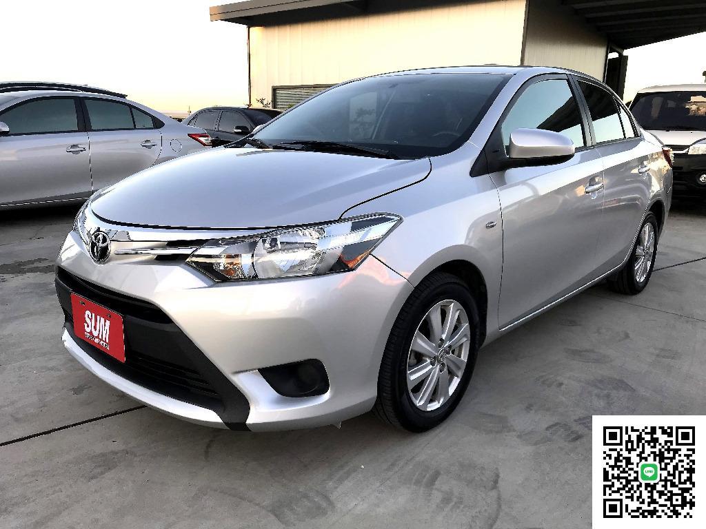 2014年 Toyota 豐田 Vios [免保人.頭款 紓困 可增貸5~20萬 強力過件] 非Sentra Tiida Vento S3 Verna