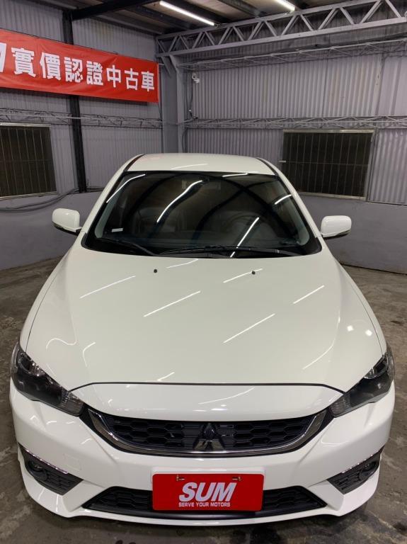 2015 三菱 Fortis 1.8 白色  全額貸款 超額貸款  找錢車 非自售 一手車/中古車