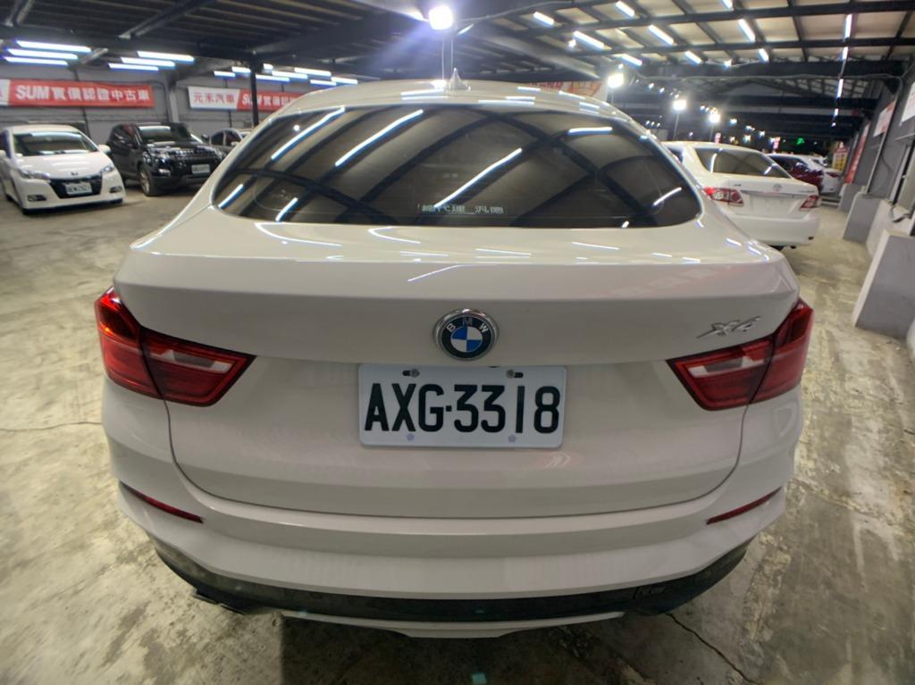 2015 BMW  X4 3.0 M版 白色 全額貸款 超額貸款  找錢車 非自售 一手車/中古車