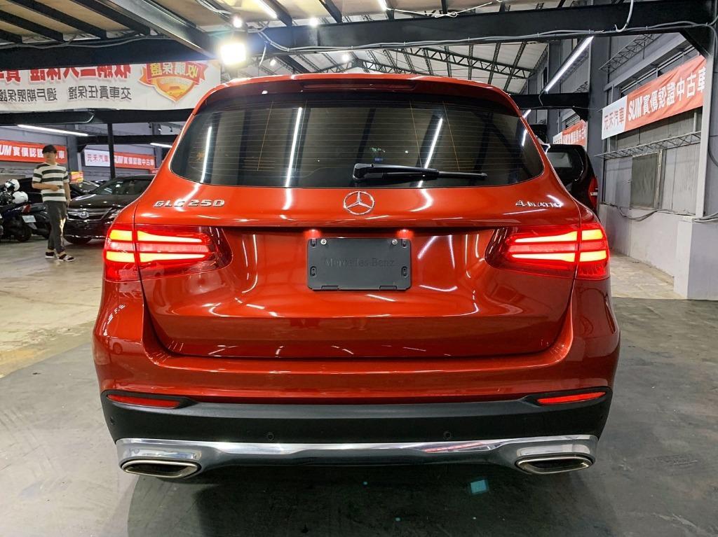 2016 賓士 Mercedes-Benz GLC250 AMG 2.0 紅色 全額貸款 超額貸款  找錢車 非自售 一手車/中古車