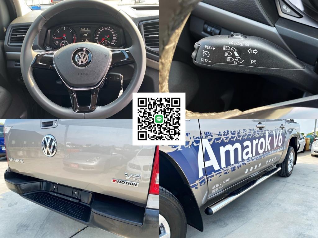 """[9個月新車 僅跑8千公里] 2019年 Amarok 皮卡 貨卡 """"強力過件 可全貸可超貸"""" 非Ranger 浪九 Hilux 海力士"""