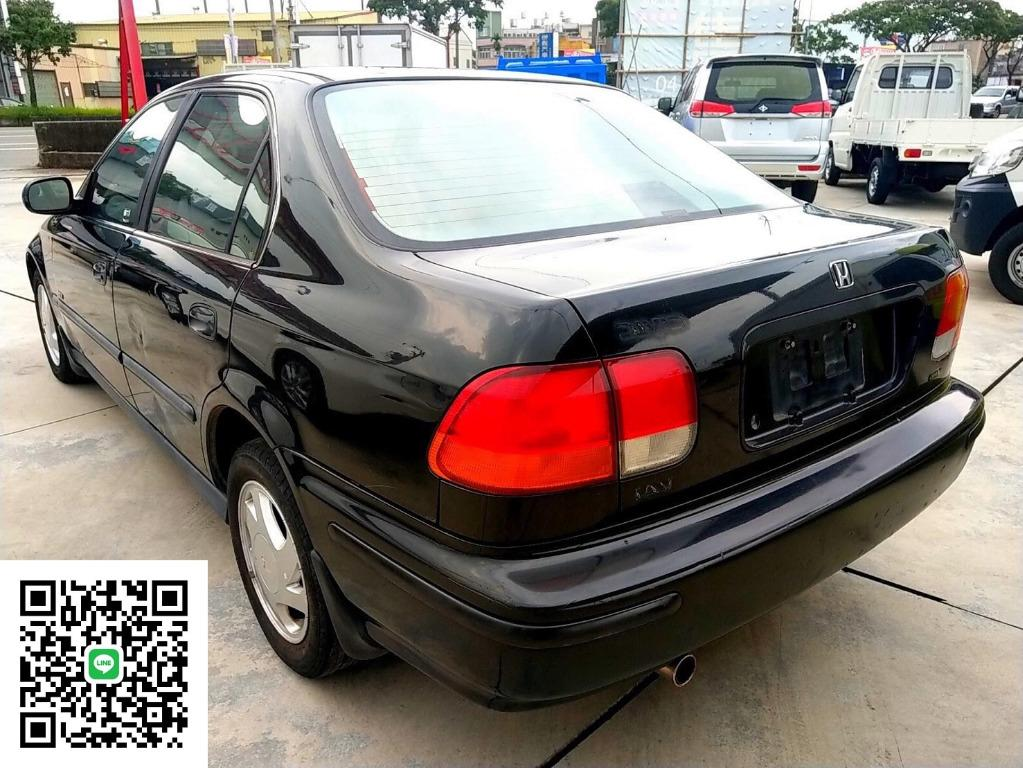 【全車原廠 無改裝 無惡操】 1997年 Civic K8 自排 原廠黑色 VTEC 可變汽門 非K11 March Tercel Lancer