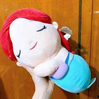 迪士尼 可愛美人魚娃娃 愛麗兒 趴趴娃娃