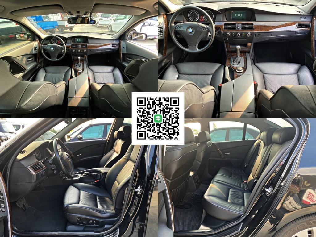 [總代理] BMW 530i 黑內裝 大全配 資料齊全(出廠證.海關證明.新車發票) 3把原廠鑰匙 非CLS350 E400 ES300 IS300