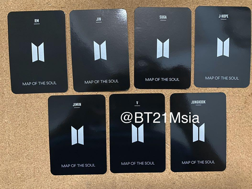 [ WTS ] BTS Official MOTS Special Edition Light Stick Photocards