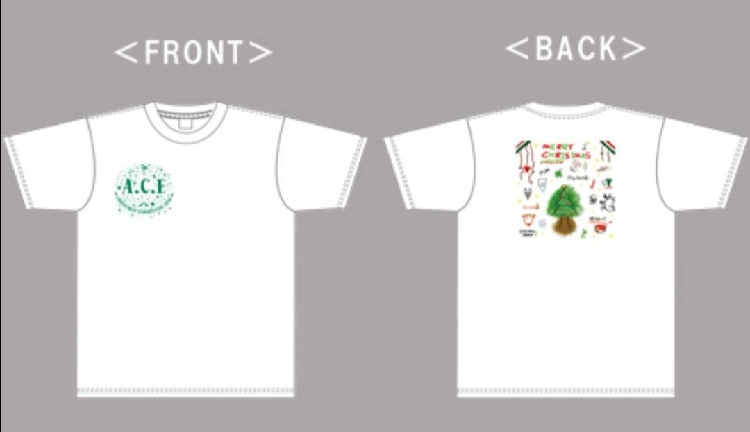 [Pre-order] [ACE] Christmas Fanmeeting 2019 T-shirt