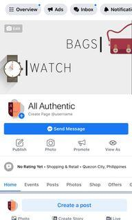 All Authentic - My Page