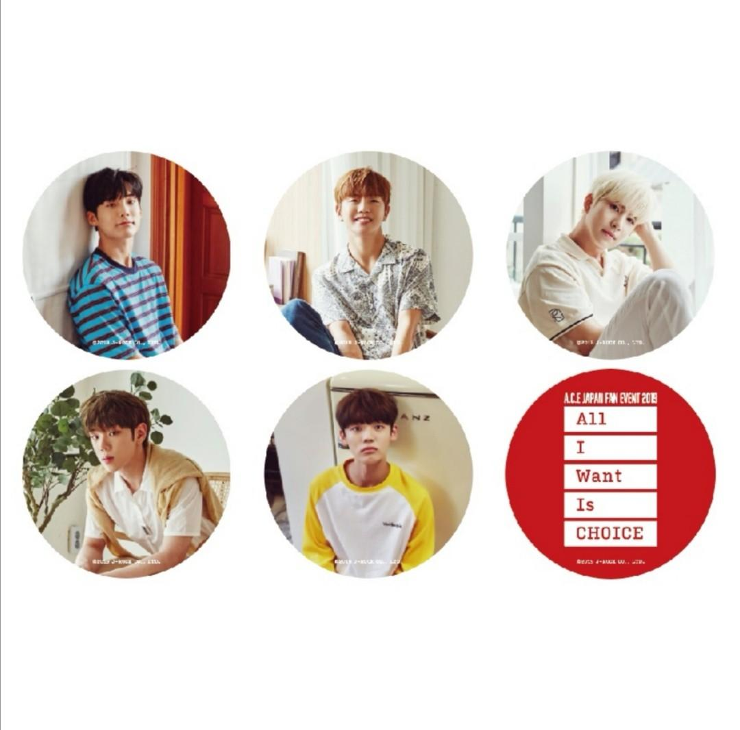 [Pre-order] [All I Want Is CHOICE] Button Badge (6 types random)
