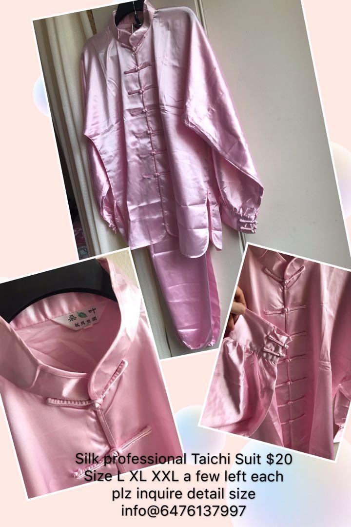Authentic Silk Tai Chi Suit