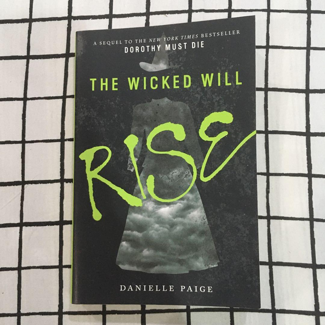 Dorothy Must Die, The Wicked Will Rise & Stories by Danielle Paige (Paperback Book Set)