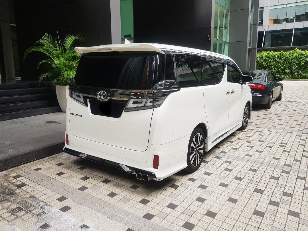 Facelift Toyota Vellfire for rent / kereta sewa / 出租车🚕