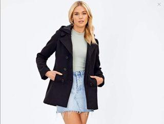 Glassons Black Winter Coat