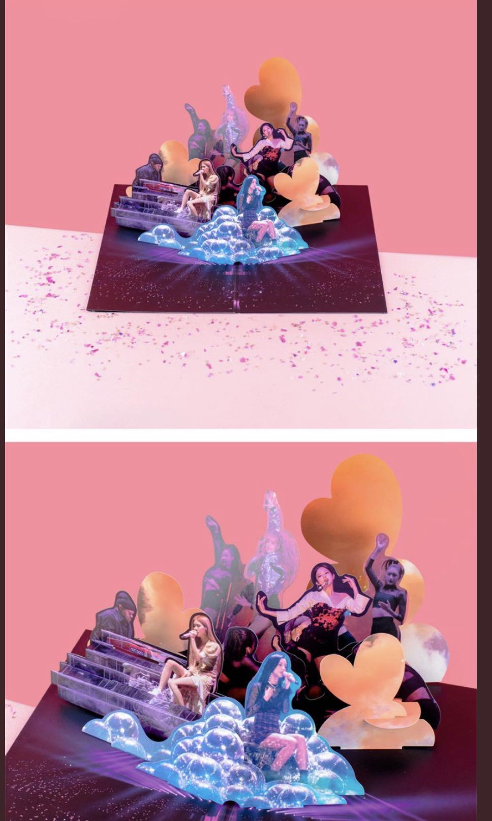 [GROUP ORDER] Blackpink In Your Area Pop-Up Card [Blackpink Merchandise]