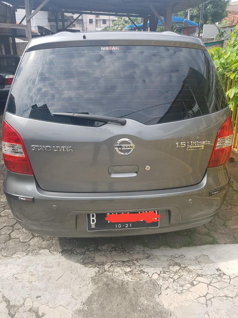 Jual mobil Nissan Grand Livina XV ultimate AT 2012