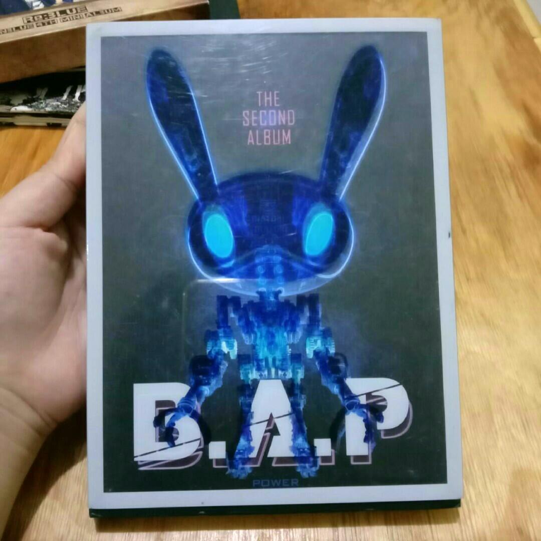 [K-POP ALBUM PRELOVED] B.A.P - Power (2nd Single Album) - ORIGINAL IMPORT FROM SOUTH KOREA