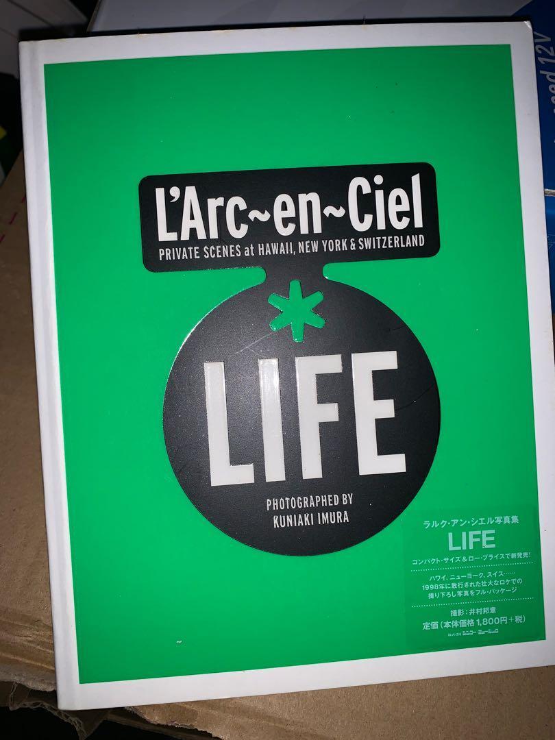 L'Arc-en-Ciel  LIFE 寫真集