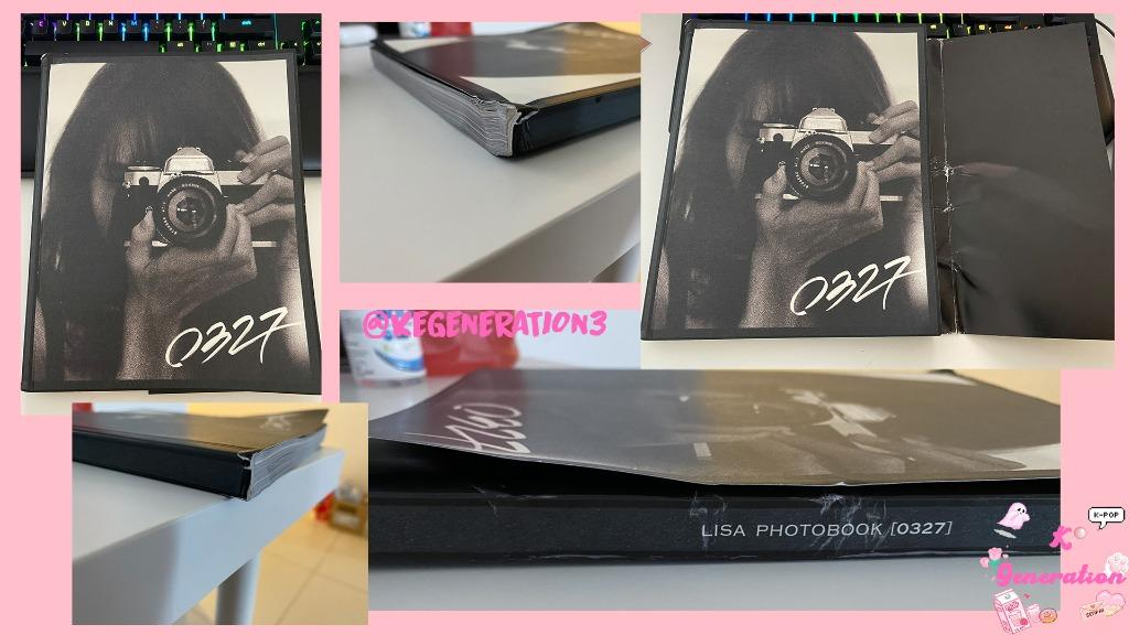 Lisa Photobook 0327 Limited Edition & Loose Items (Unsealed)