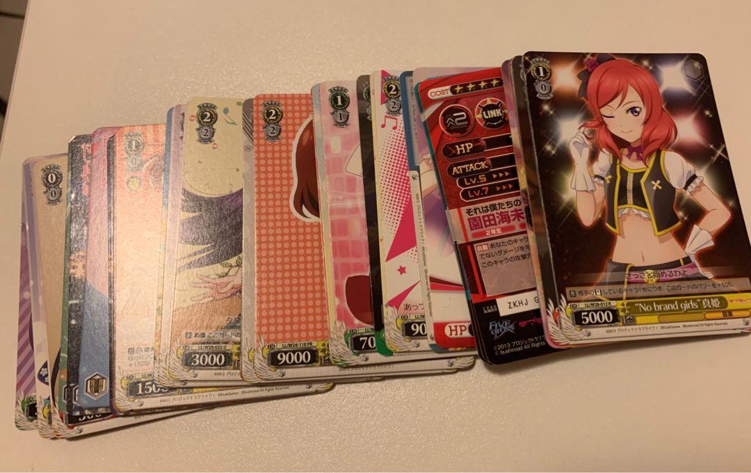 LoveLive 卡 購自日本 (送卡貼*2)