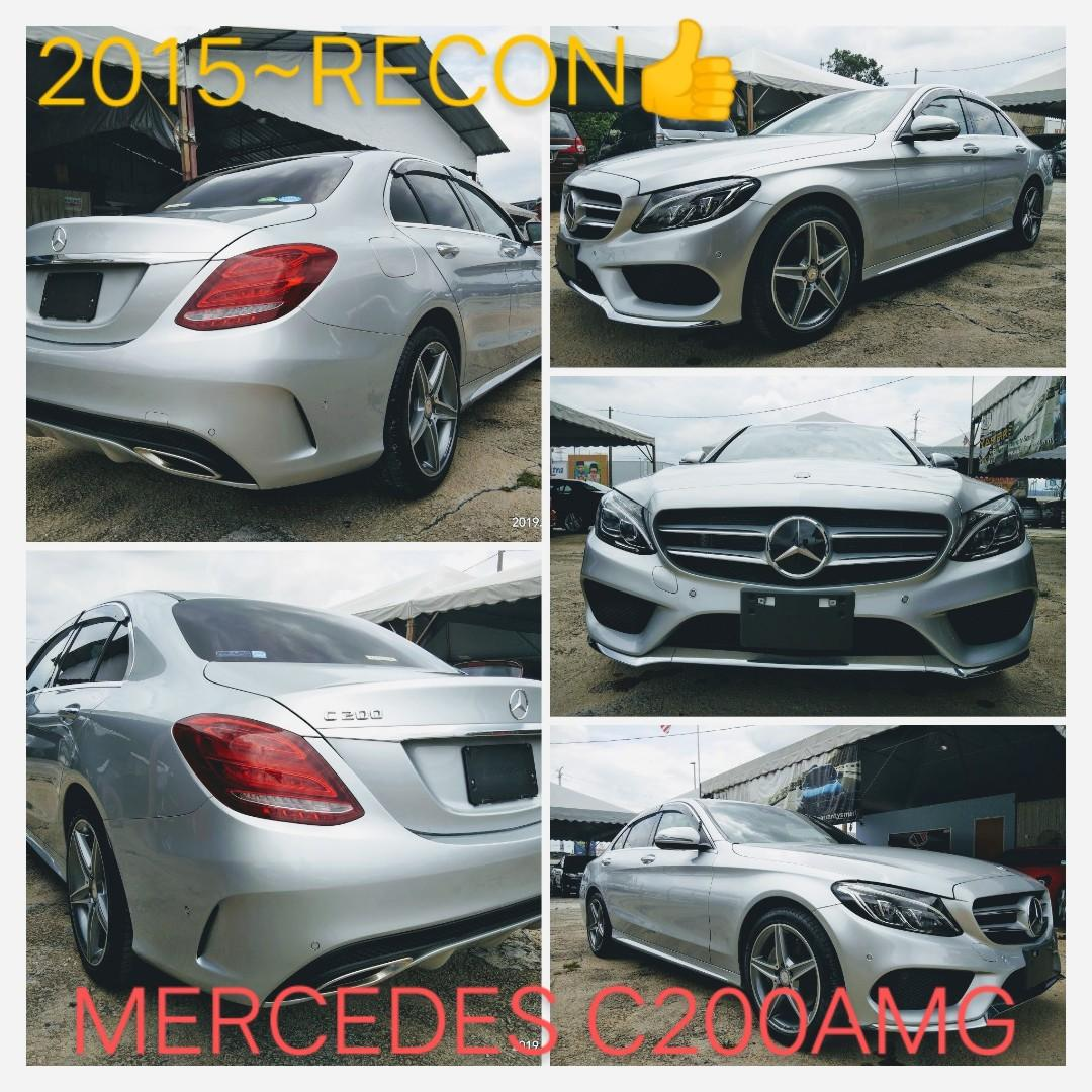 MERCEDES C200AMG 2.0TURBO ROCEN2016 From:Japan unregistered. ON THE ROAD PRICE RM179,888.88 📲www.wasap.my/0122367272/SengSeng☺🙏