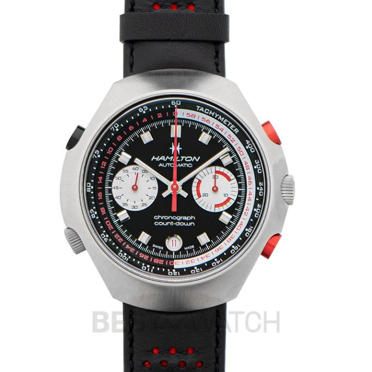 [NEW] Hamilton American Classic Chrono-Matic 50 Auto Chrono Limited Edition Automatic Black Dial Stainless Steel Unisex Watch H51616731