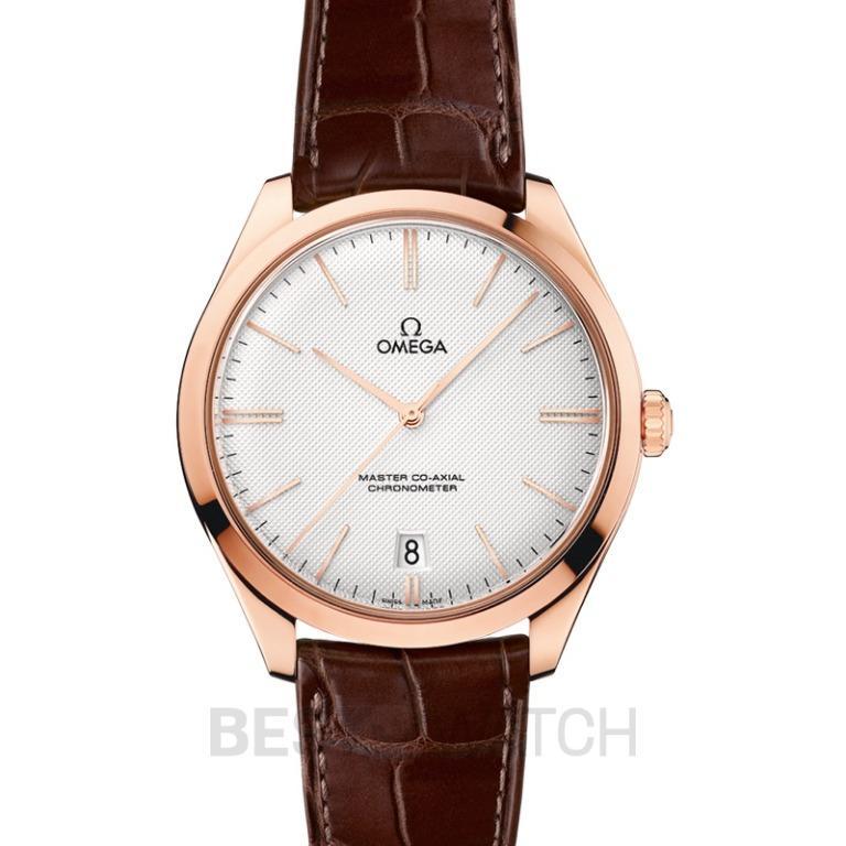 [NEW] Omega De Ville Tresor Master Co-Axial 40mm Manual-winding Silver Dial Gold Men's Watch 432.53.40.21.02.002