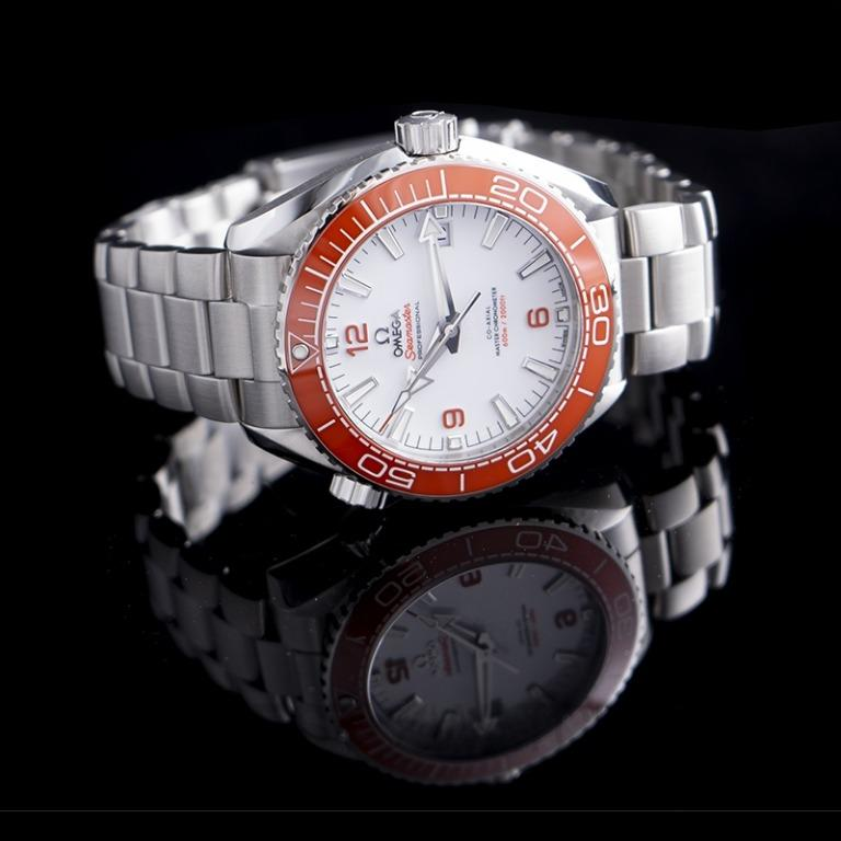 [NEW] Omega Seamaster Planet Ocean 600M Co‑Axial Master Chronometer 43.5mm Automatic White Dial Stainless Steel Men's Watch 215.30.44.21.04.001