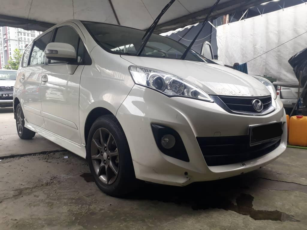 Perodua Alza 1.5 auto advance tiada lesen can full loan
