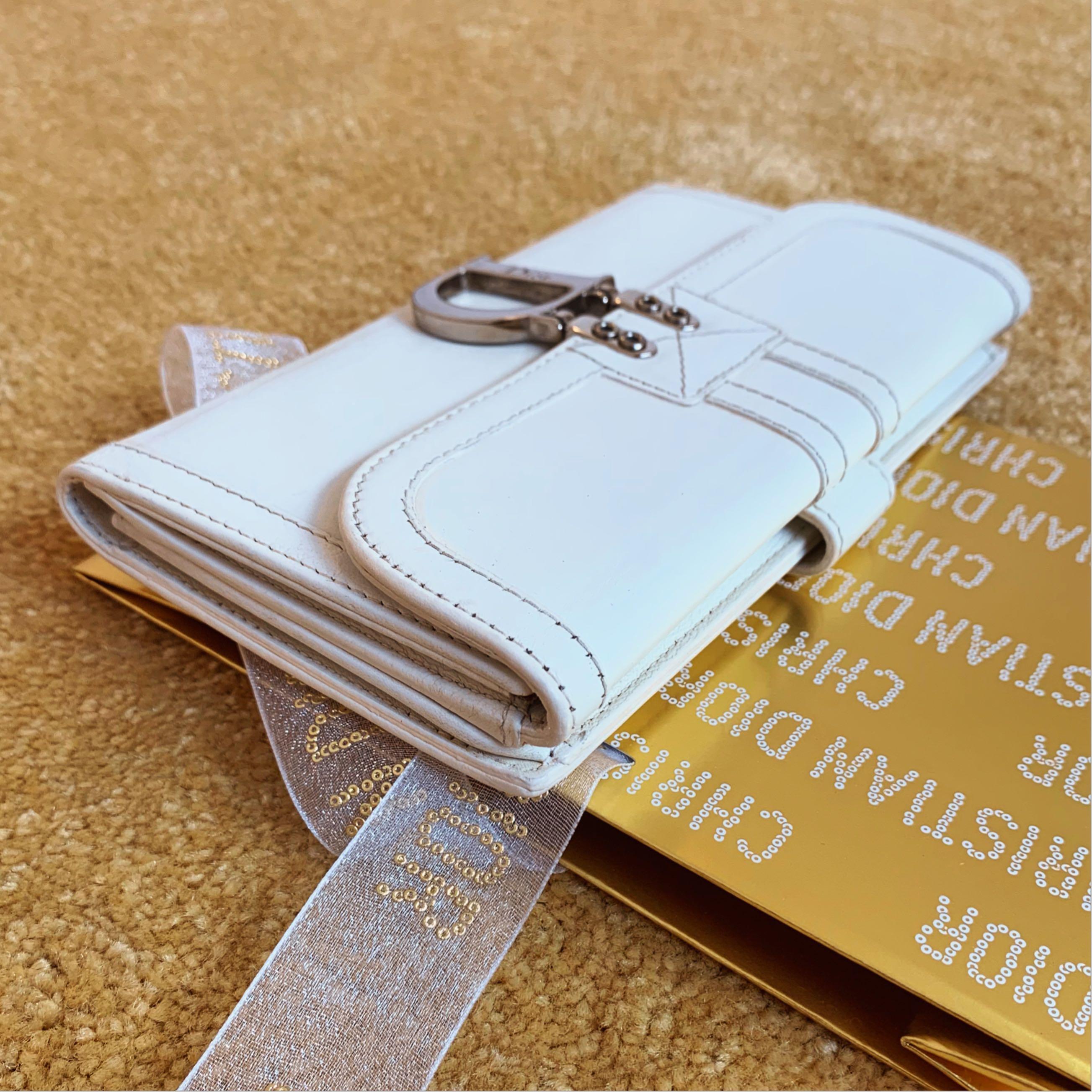 preloved dompet authentic christian dior second bekas original unisex long wallet